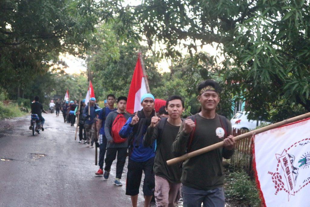 Long March Sekolah Tinggi Ilmu Islam dan Bahasa Arab (STIBA) Makassar